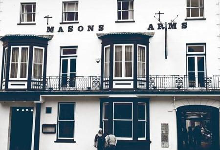 Masons Arms homepage image